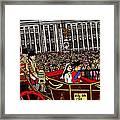 The Royal Wedding  Framed Print by Karen Elzinga