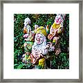 The Singing Gnomes Framed Print