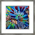 The Sun Kings Framed Print