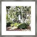 The Swing Garden Framed Print