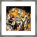 The Tiger Framed Print