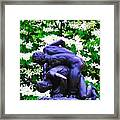 The Two Wrestlers Framed Print