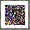 The World Largest Migraine Artwork Framed Print