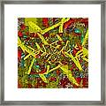 The Writing On The Wall 6 Framed Print