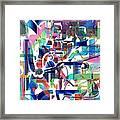Tile Framed Print by Dave Kwinter
