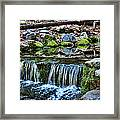 Tiny Waterfalls Framed Print