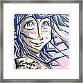 Tokyo Girl Framed Print