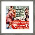 Touch Of Evil, Charlton Heston, Janet Framed Print by Everett