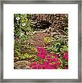 Touch Of Spring Framed Print by Cheryl Davis