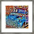 Tow Truck Framed Print