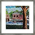 Town Wall Art Framed Print