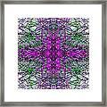 Trafficated Framed Print