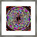 Trapped In The Vortex Framed Print