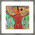 Tree Blessing Goddess Framed Print