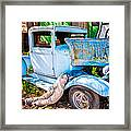 Trouble On Route 66 Framed Print