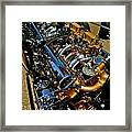 Twin Engines Framed Print