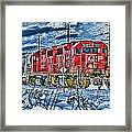 Two Cp Rail Engines Hdr Framed Print
