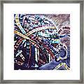 Unraveling Life  Framed Print