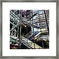 Up And Down Reflections 2 Framed Print