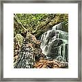 Upper Cascade Hidden Falls Framed Print