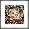 Valley Of The Fire Spinner Framed Print