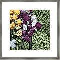 Variety Of Fresh Vegetables - 5d17900-long Framed Print