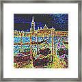 Venice Venezia Glow Framed Print