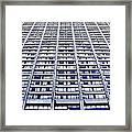 Vertical Urbanization Framed Print