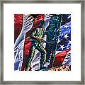 Veteran Warrior Framed Print