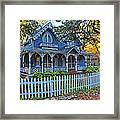 Victorian Home Marthas Vineyard Framed Print