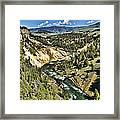 View Of The River Framed Print