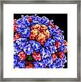 Virus Particle, Artwork Framed Print