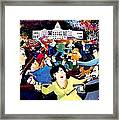 Voting Day Coming Up Soon   Oh     Boy Framed Print
