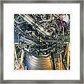 Vulcain Engine Designed For Ariane 5 Launcher Framed Print