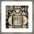 Vulcan Steel Steampunk Framed Print