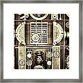 Vulcan Steel  Steampunk Metalworks Framed Print