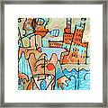 Walking The Dog Chicago Pier Framed Print by Charlie Spear