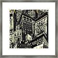 Walls And Towers Framed Print
