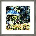 War Memorial Rose Garden 2  Framed Print