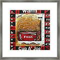 Warm Cup Of Joe Original Painting Madart Framed Print
