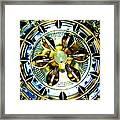 Washing Machine Drum Framed Print by Randall Weidner