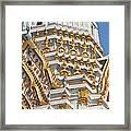Wat Phitchaya Yatikaram Central Prang Dthb1191 Framed Print