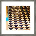 Way To The Blue Corn Framed Print