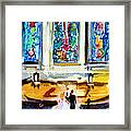 Wedding Day At Second Presbyterian Church Charleston Sc Framed Print