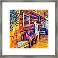 White River Lodge Framed Print