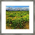 Wind River Range In West Central Wyoming - 03 Framed Print