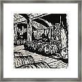 Wine Cellar Framed Print by William Cauthern