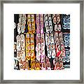 Wooden Shoes  Framed Print by Jim Chamberlain