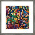 Yellow Dance Framed Print