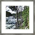 Yellowstone River II Framed Print